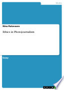 Ethics In Photojournalism Book PDF