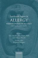 Landmark Papers in Allergy Pdf/ePub eBook