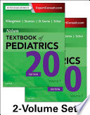 """Nelson Textbook of Pediatrics, 2-Volume Set"" by Robert M. Kliegman, MD, Bonita F. Stanton, MD, Joseph St. Geme, MD, Nina F Schor, MD, PhD"