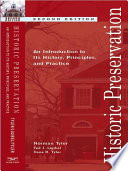 Historic Preservation An Introduction To Its History Principles And Practice Second Edition  Book PDF