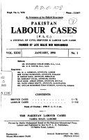 Pakistan Labour Cases