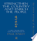 Strengthen The Country And Enrich The People