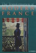 Pdf The Transformation of Modern France
