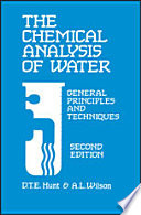 The Chemical Analysis of Water