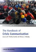 The Handbook of Crisis Communication