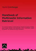 Handbook of Multimedia Information Retrieval