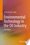 Environmental Technology in the Oil Industry Book