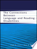 The Connections Between Language And Reading Disabilities Book PDF