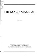 UK MARC manual