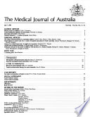 The Medical Journal of Australia