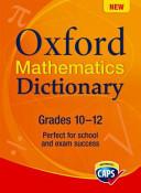 Oxford Mathematics Dictionary