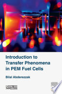 Introduction To Transfer Phenomena In Pem Fuel Cells Book PDF