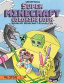 Super Minecraft Coloring Book