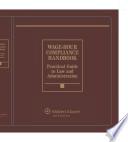 Wage Hour Compliance Handbook  2013 Edition Book