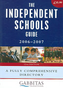The Independent Schools Guide 2008-2009