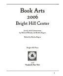 Book Arts 2006  Bright Hill Center
