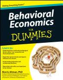 Behavioral Economics For Dummies Pdf/ePub eBook