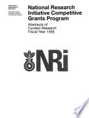 National Research Initiative Competitive Grants Program