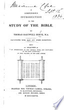 A compendious introduction to the study of the Bible ... Illustrated with maps and other engravings, etc