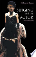 Singing and the Actor Book PDF