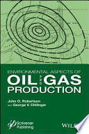 Environmental Aspects of Oil and Gas Production Book