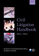 Civil Litigation Handbook 2012-2013