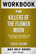 Workbook for Killers of the Flower Moon