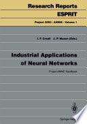 Industrial Applications of Neural Networks Book