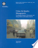 Urban Air Quality Management