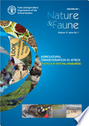 Agricultural transformation in Africa: The role of natural resources