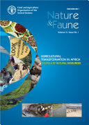 Agricultural transformation in Africa  The role of natural resources