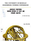 Aerospace Structures Book