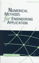 Numerical Methods For Engineering Applications Book PDF