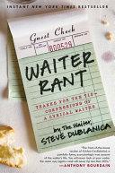 Waiter Rant [Pdf/ePub] eBook