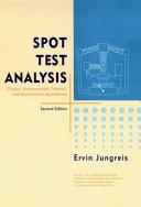 Spot Test Analysis