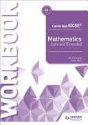 Books - Cam/Ie Core And Extended Maths 4th Ed Wb | ISBN 9781510421707