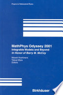 Read Online MathPhys Odyssey 2001 For Free