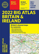 2022 Philip s Big Road Atlas Britain and Ireland