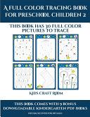 Kindergarten Coloring  A Full Color Tracing Book for Preschool Children 2