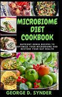 Microbiome Diet Cookbook Book PDF
