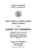 Annual Report of the Tax Commission of the State of Illinois