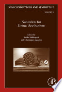 Nanowires for Energy Applications