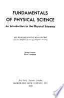 Fundamentals of Physical Science