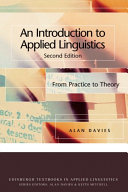 Introduction to Applied Linguistics  From Practice to Theory