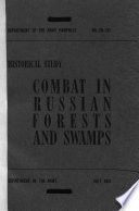 Combat in Russian Forests and Swamps Book PDF