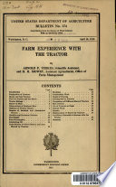 Farm Experience with the Tractor Book PDF