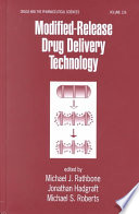 Modified Release Drug Delivery Technology Book