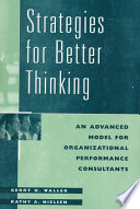Strategies for Better Thinking