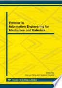 Frontier In Information Engineering For Mechanics And Materials Book PDF