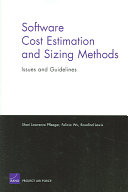 Software Cost Estimation and Sizing Methods